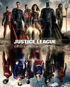 Justice League: Crisis on Two Earths fan art - DCcomics Justice League, Eobard Thawne, Superhero Shows, Cw Dc, Dc Tv Shows, Univers Dc, Batman Vs Superman, Supergirl Superman, Batman Arkham