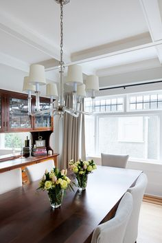 From our Character on West 10th Avenue renovation in Vancouver, BC. *Re-pin to your own inspiration board* Inspiration Boards, Vancouver, This Is Us, Dining Room, Interior Design, Kitchen, Table, Character, Furniture