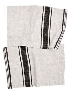 Classic Stripe Linen Placemat Set - LEIF