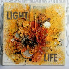 Riikka Kovasin - Paperiliitin: Light Life - Prima PPP October Glimmer Mist Tattered Angels