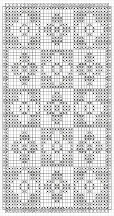 Crochet Table Runner Pattern, Tapestry Crochet Patterns, Knitting Paterns, Granny Square Crochet Pattern, Knitting Stitches, Crochet Stitches Chart, Filet Crochet Charts, Crochet Diagram, Crochet Cord