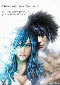 Fairy Tail, Gray and Juvia