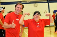Thumbs up for the first of many Marathon of Sport's to come! #Winnipeg