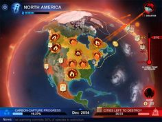 """""""Carbon Warfare"""" le jeu vidéo qui contribue à sensibiliser aux dangers du réchauffement climatique"""