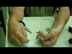 The Video on how to make Horseshoe nail crosses. Our first one we ever made