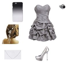 """Dancing in Silver"" by logiebear5656 ❤ liked on Polyvore"