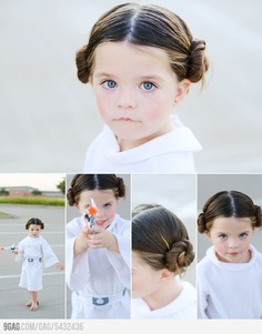 Take note, world. This is gonna be my kid. She is ADORABLE.