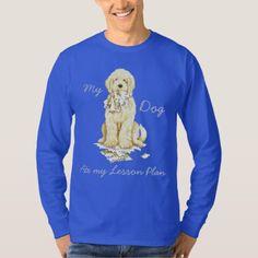 My Komondor Ate My Lesson Plan T-Shirt - dog puppy dogs doggy pup hound love pet best friend