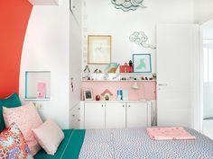 Un piso de 50 m² con una decoración handmade