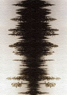 Natural forest - sound wave
