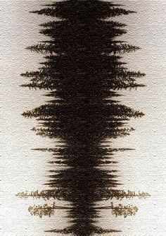 Natural forest - sound wave