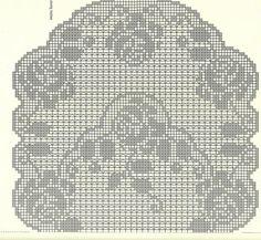 Kira scheme crochet: Scheme crochet no. 978
