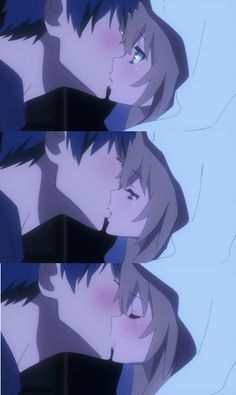 Toradora! All of you that dont know Toradora, you will never quite understand how beautiful this scene in this anime is.