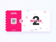 Dribbble Invites by Aaron Humphreys
