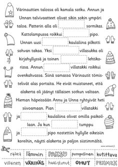 Talvi - Värinautit Sheet Music, Learning, Finnish Language, Languages, Studying, Teaching, Music Sheets, Onderwijs