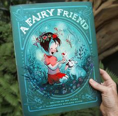 Claire Keane is an illustrator and visual development artist who contributed to the Disney films Enchanted, Tangled, Wreck-It Ralph and Frozen. She illustrated and wrote the children's book Once Upon A Cloud, illustrated A Fairy Friend, out May 10, a
