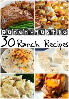 40 of the best comfort food recipes food recipes and main dishes 30 ranch tastic ranch recipes ranch recipelunch ideasmeal forumfinder Image collections