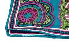 Vintage Vera Studio Silk Scarf Vera Neumann Accessories Turquoise Fuschia Floral Mandala by StarfishCollectibles on Etsy Vintage Clothing, Vintage Outfits, Silk Scarves, Going Out, Mandala, Turquoise, Studio, Floral, Stuff To Buy