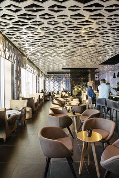 D/DOCK have designed an espresso cocktail bar in Amsterdam called Weekend.