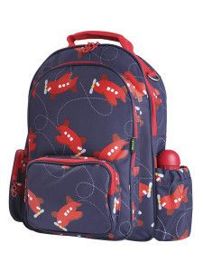 033023bd523c Gererously sized with roomy external pockets and padded straps is this gooie  large backpack loop de loop