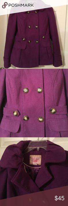Purple coat. 💜 Great condition.✨ Pink Envelope Jackets & Coats