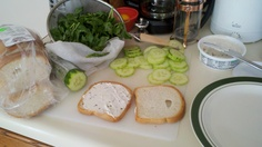 Anne of Green Gables - Lake of the Shining Watercress Sandwiches