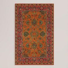 Mandarin Agra Wool Rug