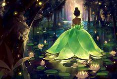 A princesa Tiana Disney Amor, Arte Disney, Disney Fan Art, Disney Magic, Disney Artwork, Disney And Dreamworks, Disney Films, Disney Parks, Disney Pixar