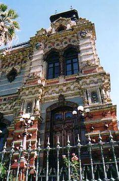 Buenos Aires  Argentina Edificios Aguas Argentinas Water Building
