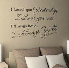 Bedroom Text Love Door JVanhorenbeke