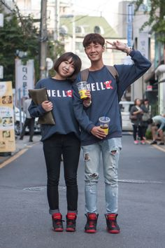 http://chicerman.com  billy-george:  HELLS  Spotted at Seoul Fashion Week  Photo by Carl Jones Sol-Sol Street  #streetstyleformen