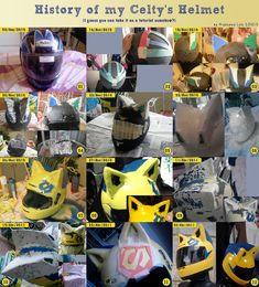Making Of: Celty's Helmet by Miyazawa-Lulu