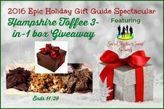 Hampshire Toffee 3 in 1 Box Giveaway! Ends 11/29 @HampshireToffee #SMGN