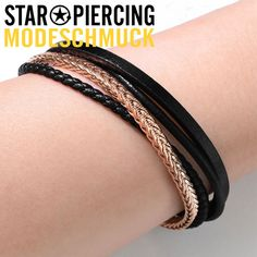 Piercing, Star Wars, Messing, Stars, Bracelets, Leather, Jewelry, Fashion, Black Stainless Steel