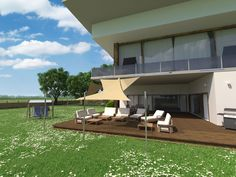 Outdoor Furniture, Outdoor Decor, Sun Lounger, Home Decor, Sun Sails, Solar Shades, Privacy Screens, Chaise Longue, Decoration Home