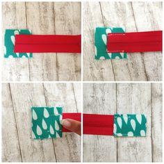 Wie man einen Reißverschluss in Taschen näht - ohne Gnubbel