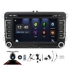 7inch 2din VW Car DVD GPS PC Navigation for VW GOLF POLO JETTA TOURAN MK5 MK6  PASSAT B6 GPS Map radio stereo,bluetooth, FM/AM //Price: $246.99 & FREE Shipping //     #hashtag4