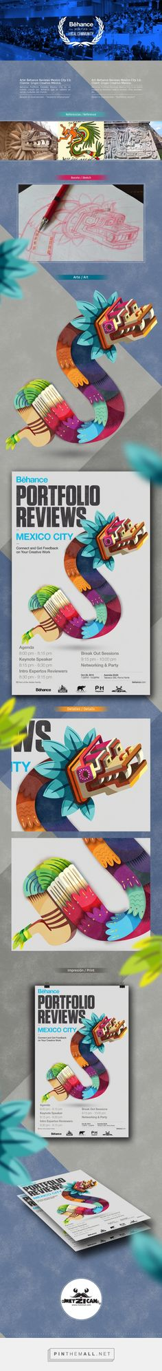 Behance Portafolio Reviews Mexico City / Quetzalcóatl on Behance - created via http://pinthemall.net