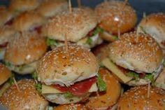 mini sanduiches coloridos - Pesquisa Google