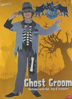 Costume Zombie per bambini. 145-158 cm circa. Completo di maglia cd12e0281160
