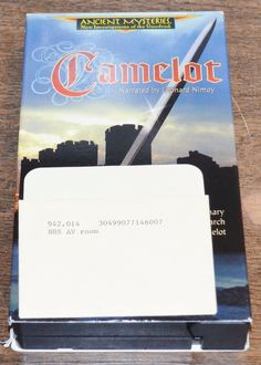 Ancient Mysteries - Camelot (VHS) Narrated by Leonard Nimoy Former Library Copy