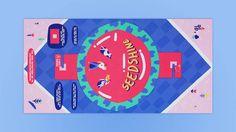 Colorful Illustrated Vinyl Cover & Design – Fubiz Media