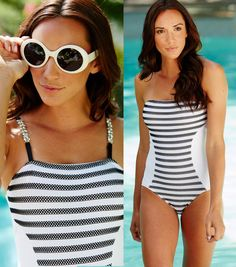 Black and White Swimsuit | Create your own bathing suit