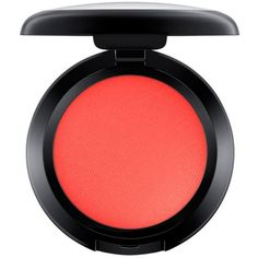 Mac News Flash Matte Powder Blush  Small ($16) ❤ liked on Polyvore featuring beauty products, makeup, powder blush, mac cosmetics and mac cosmetics makeup