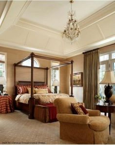 Great room, 3rd fl, tray ceiling w/ molding