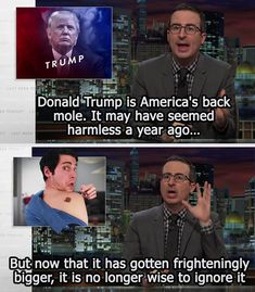 When he took on Donald Trump. | 19 Times John Oliver Was The Hero We All Needed
