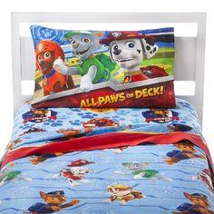 Paw Patrol full size bed sheet set
