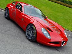 2010 Zagato Alfa Romeo TZ3 Corsa #alfaromeozagato