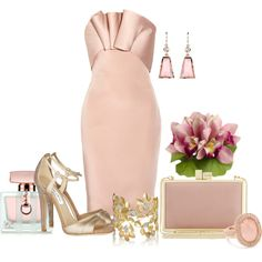 """""""Bridesmaid in Pink"""" by queenranya on Polyvore"""