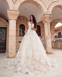 Wedding Day of Kristina&Gvido + press release Bridal Gowns, Wedding Dresses, Here Comes The Bride, Ball Gowns, Wedding Day, Press Release, Lace, Fashion, Bride Dresses